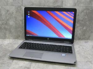"""HP Probook 650 G2 Laptop 15.6"""" i5-6300U 2.40ghz 8gb RAM w/ Battery!"""