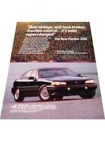 1993 Pontiac Bonneville SSEi - Vintage Advertisement Car Print Ad J407