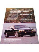 1993 Pontiac Bonneville SSEi - Vintage Advertisement Car Print Ad J407