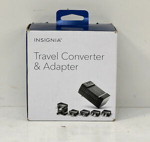 -INSIGNIA Travel Converter and Adapter NS-MTC1875