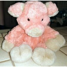 HERITAGE COLLECTION GANZ PINK PIG 9 INCH SITTING GREY NOSE AND EARS G/C