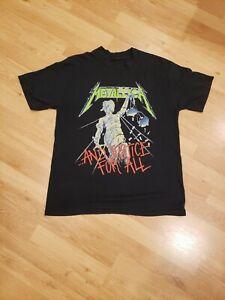 Original /Vintage Metallica Concert T-shirt 1988-89