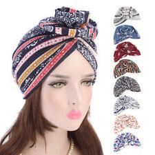Women's Head Scarf Cancer Protect Cap Muslim Turban Hat Head Stretch Wrap Trendy