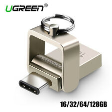 Ugreen Type C to USB 3.0 OTG Flash Drive 16GB Pen Memory Stick for Samsung S8 LG