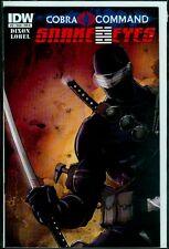 IDW Comics SNAKE EYES #12 Cover B Cobra Civil War VFN 8.0