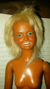 Dusty doll Hong Kong Kenner 1974 fashion doll played with tnt body nude doll #1