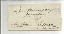 Preussen V. / ZÜLLICHAU Fgh.-Stempel auf Brief n. Liebenau