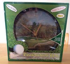 """NIB Tournament Time Golf Clock - Golf Sounds Every Hour - 8"""""""