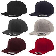 Flexfit Original Snapback Cap Plain Basic Baseball Cap 2-tone Blank Hat