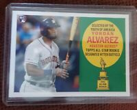 2020 Topps Archives YORDAN ALVAREZ 1960 All-Star Rookie ~ Astros #60AR-YA!!!⚾️🔥