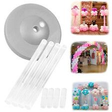 1 Set Balloon Column Base Display Holder Stand For Birthday Wedding Party Decor~