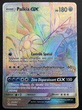Carte Pokemon PALKIA 132/131 GX RAINBOW Soleil et Lune 6 SL6 FR NEUF