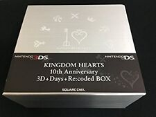 KINGDOM HEARTS 3D 10th Anniversary 3D+Days+Re:coded BOX Nintendo game
