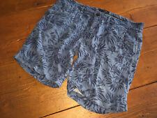 ★SELECTED HOMME Bermuda Leinen Shorts Hose Gr.34 SUMMER VINTAGE LOOK Slim LINEN★