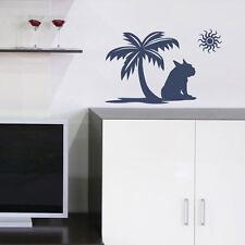 Wandtattoo Wandbild Französische Bulldogge Relax