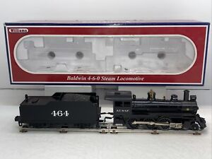 Williams 40603 A.T. & S.F. Baldwin 4-6-0 Steam Engine w Tender O Gauge Used #464