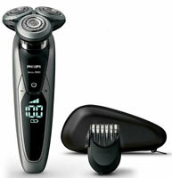 Philips S9711/41 Wet And Dry Series 9000 Electric Shaver V-Track Pro/Smart Click