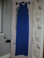 Oasis Maxi Column Dress Blue size S