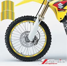 SUZUKI RIM STICKERS DECALS GRAPHICS TAPES  FIT RM RMZ DZR 85 125 250 450
