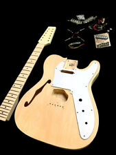 NEW 12 STRING SEMI HOLLOW TEL STYLE DIY ELECTRIC GUITAR LUTHIER BUILDER KIT