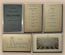 Fanconeisen Profile der Königin Marienhütte 1899 Katalog Technik Geschichte xy