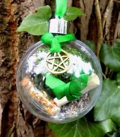Witch Ball Ornament Pagan Boxed Gift  Home Blessings and Protection Spell Kit
