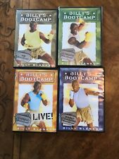 Billy's Bootcamp Exercise Dvds- 4 in All