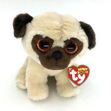 """Ty Beanie Boos 6""""  Cute Brutus Boxer Dog Stuffed Animals Toys Child Gifts CT"""