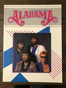 Alabama The Band Tour Program Book