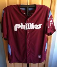 Mike Schmidt #20 Phillies Jersey Cooperstown Collection (Hall of Fame) Men's XL