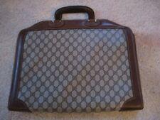 Vintage Gucci Brown Briefcase Nr!
