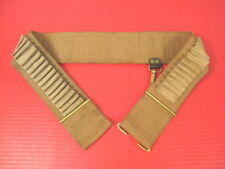 Spanish Am War US 1894 Spaulding Mounted Cartridge Belt .30-40 Cal Krag Rifle