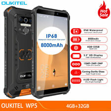 OUKITEL WP5 4G LTE Rugged Android 9.0 Smartphone Waterproof Cell Phone 8000mAh