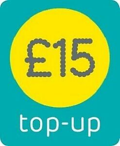 EE - £15  - Pay as You Go - Mobile phone Top Up Voucher