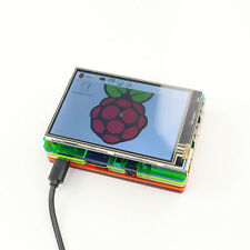 3.5 inch LCD Touch Screen Display Kit W/ Colorful Case for Raspberry Pi 2 3 BD