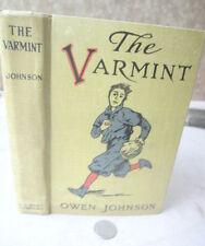 THE VARMINT,1910,Owen Johnson,Illustrated