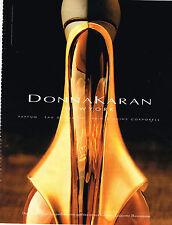 PUBLICITE ADVERTISING 025  1994  DONNA KARAN   parfum femme