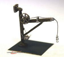 Gibbet Crane (wall mount or freestanding) N Gauge) - Unpainted - Langley A97A