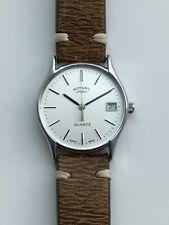 Vintage Men's Rotary Quartz Dress Watch Cal ETA ESA 944.111