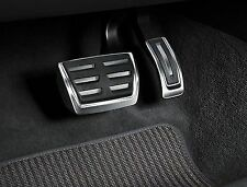 GENUINE Audi A4 A5 Q5 Aluminium Pedal Covers - Automatic & RHD only - 8K2064205
