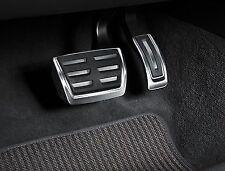 GENUINE Audi A4 A5 Q5 Aluminium Pedal Covers - Automatic & RHD only - 8K2064205