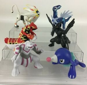 Pokemon McDonalds Toy 6pc Lot Popplio Dialga Zekrom Primal Groudon Palkia 2018