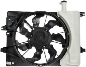 Engine Cooling Fan Assembly For 2013-2014 Hyundai Elantra Coupe Dorman 786425QA