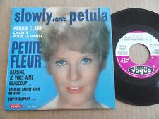 """DISQUE 45T DE PETULA CLARK  """" PETITE FLEUR """""""