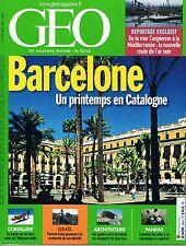 geo - N°326 - avril 2006 - Barcelone Altiplano Jeunesse israélienne Aéroports Pi