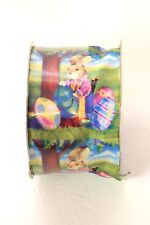 """Easter Ribbon Craft Ribbon Easter Bunny 2"""" Wide 9 ft. Long New Roll"""