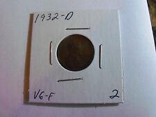 A KEY DATE 1932-D WHEAT PENNY (Please see pics)