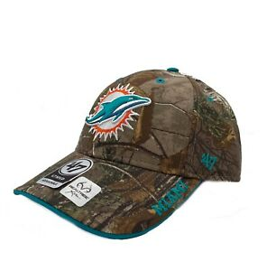 Miami Dolphins '47 Realtree Camo Frost MVP Adjustable Field Hat Cap NFL