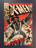 X-Men #56 FN-VF 1st Living Monolith Neal Adams! Marvel Comics Key