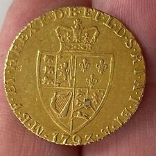 More details for superb full guinea gold coin 1793 22ct gold coin